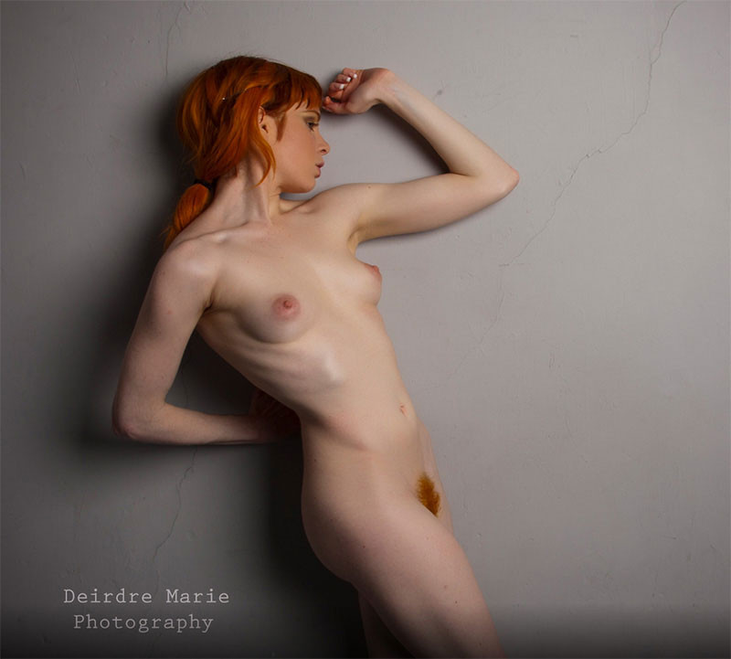 Big Tit Redhead Danielle Riley Topless Polkadot Bikini Pinup Files