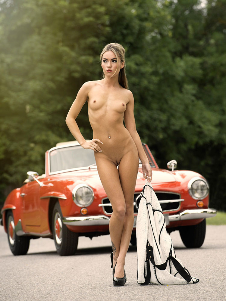 Cool cars with girls nude