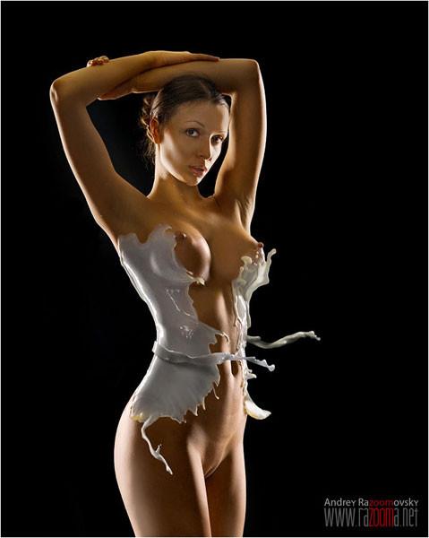 Sweet young virgin female nudists