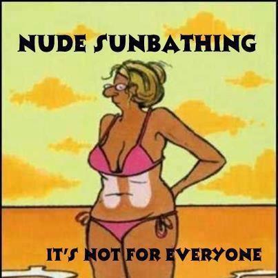 Nude Sunbathing Joke