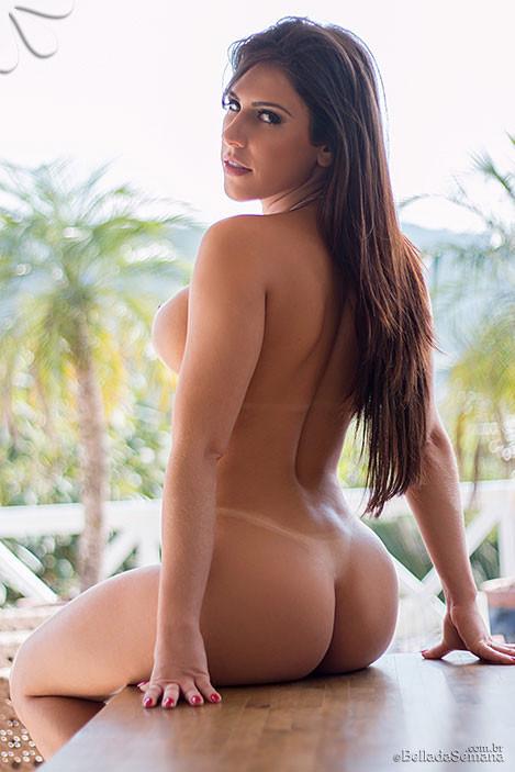 Bella Da Semana Model Suelen Castro Nude 02