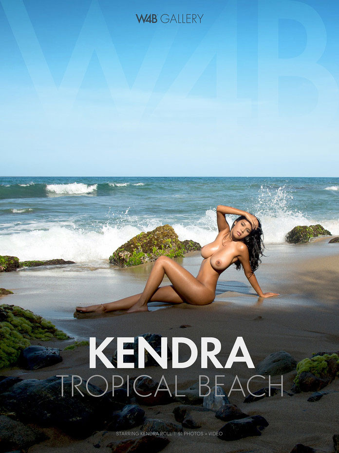 Kendra-Roll-Watch4Beauty-Nude-Photos-Tropical-Beach